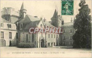 Postcard Old Surroundings of Vichy Chateau de La Chapelle Bussel