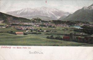 Austria Salzburg Panorama von Maria Plein Aus