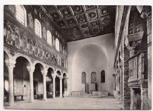 Ravenna, S. Apollinare Nuovo, Interno, unused Postcard