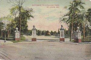 Michigan St Louis Entrance to O'Fallon Park