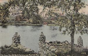 Near MANSFIELD, Massachusetts, PU-1912; The Stone Pier, Old North Factory
