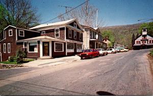 Connecticut New Preston County Route 202 Main Street Scene