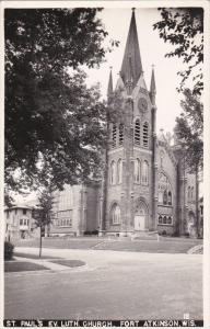 RP: St. Paul's Ev. Luth. Church , FORT ATKINSON , Wisconsin , 30-40s