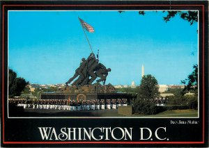 USA Wahington Iwo Jima statue postcard