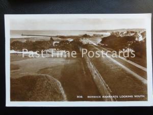 c1955 RP - Berwick Ramparts Looking South