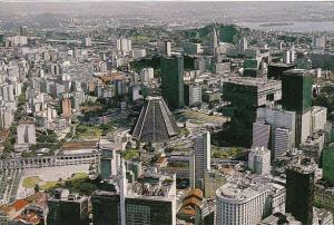 Brasil Rio De Janeiro Rj Metropolitan Cathedral And Lapa Arches