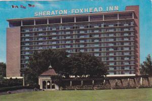 Exterior, Sheraton-Foxhead Inn,  Niagara Falls,  Ontario,  Canada,  40-60s