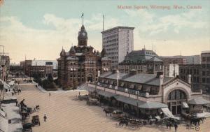 WINNIPEG , Manitoba , Canada , 00-10s ; Market Square