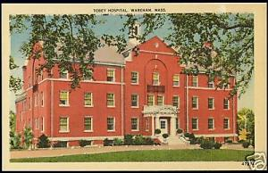 Wareham, Mass., Tobey Hospial (1930s)