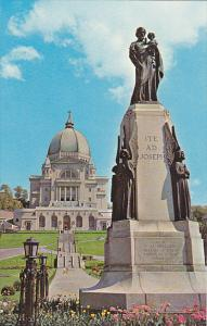 Canada Montreal Saint Joseph's Statue and Oratory