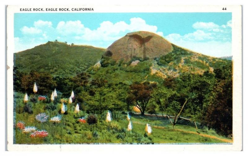 Early 1900s Eagle Rock, Eagle Rock, CA Postcard