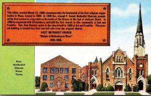 Texas Waco First Methodist Church