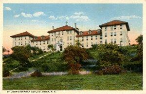 NY - Utica. St John's Orphan Asylum