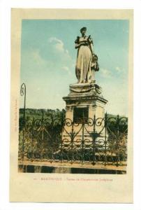 Statue De l'Imperatrice Josephine, Martinique, France, 1900-1910s