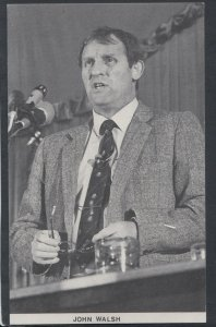Mining Postcard - National Union of Miners President John Walsh    RS12185