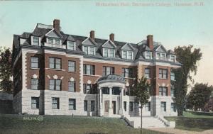 HANOVER, New Hampshire, 1900-10s; Richardson Hall,  Dartsmouth College