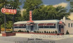 Sams Diner, Richmond Virginia USA  Richmond Virginia