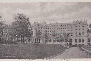 West Virginia White Sulphur Springs The Greenbrier Hotel Albertype