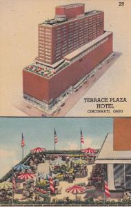 CINCINNATI, Ohio, 30-40s; Terrace Plaza Hotel, 2-views