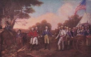 Washington D C Surrender Of Borgoyne Painting In Rotunda Of U S Capitol