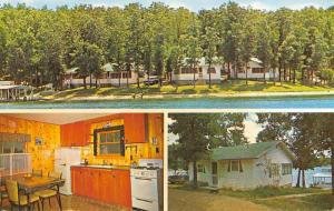 Sunrise Beach Missouri Fergies Vacation Hid A Way Resort Postcard K90971