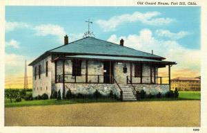 OK - Fort Sill. Old Guard House