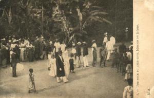 CPA Dahomey Afrique -  Une noce du High-Life- Mission du Bénin (86825)