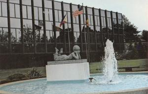 East Aurora New York~Fisher Price Toys Corporate Headquarters~1970s Postcard