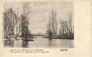 CPA Metz -Vue prise de la prés de Longerville (170043)