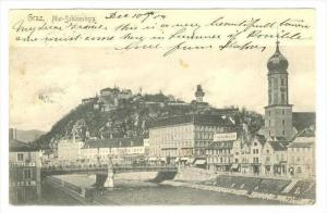 Graz, Mur-Schlossberg , Austria , PU-1904