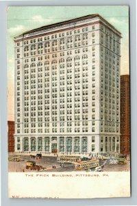Pittsburg PA-Pennsylvania The Frick Building, Vintage Postcard