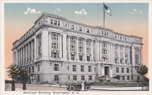 Washington D C The Municipal Building