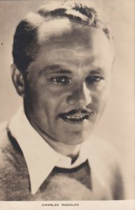 RP: Charles Ruggles, comic American character actor,  1910-20s