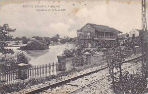 Africa Sudan Inondation du 22 Aout 1906