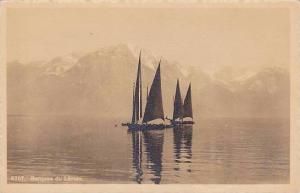 Barques du Leman (Geneva), Sail boats on Lake Leman (Geneva), Switzerland, 10...