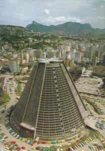 Brasil ; Catedral Metropolitana , Rio De Janeiro , 50-70s
