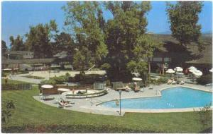 The Village Green, Food and Lodging, Cottage Grove, Oregon, OR, Chrome