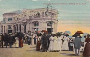 New Jersey Asbury Park Seventh Avenue Pavilion 1912