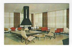 1960's Lounge, The Defiance College, Defiance, Ohio Chrome Postcard