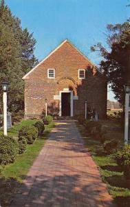 Bath NC Brick Sidewalk to the St Thomas Episcopal Church~Queen Ann Bell 1950s