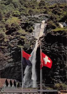 Switzerland Biasca Cascata di S. Petronilla Waterfall Cascade