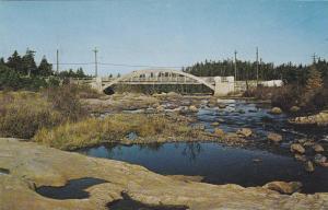 The Bridge at Manuels, Conception Bay Peninsula, Newfoundland, Canada, 1940-1...