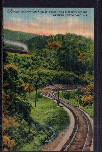 Southern Railway Near Andrews Geyser,Western,NC