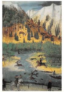 Jorg Kolderer Tiroler Jagdbuch, Kon Bibliotheek Albert Postcard