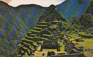 Peru Machupicchu Temple Principal