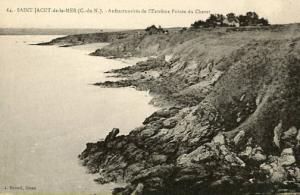 France - Dinan, St. Jacut de la Mer - Crevices at the Tip of Pointe du Chevet