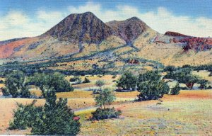 [ Linen ] US Texas Davis Mountains - The Twin Sisters