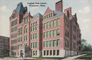 WORCESTER, Massachusetts, 1900-1910's; English High School