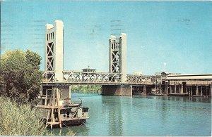 Chrome BRIDGE SCENE Sacramento California CA AH7116