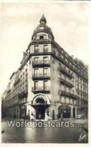 Hotel Bohy lafayette Paris, France, Carte, Postal Used Unknown
